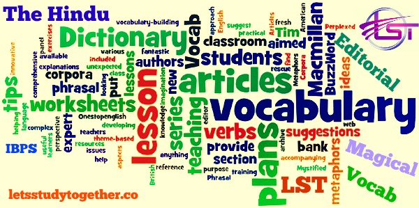 Daily Editorial Vocabulary Words