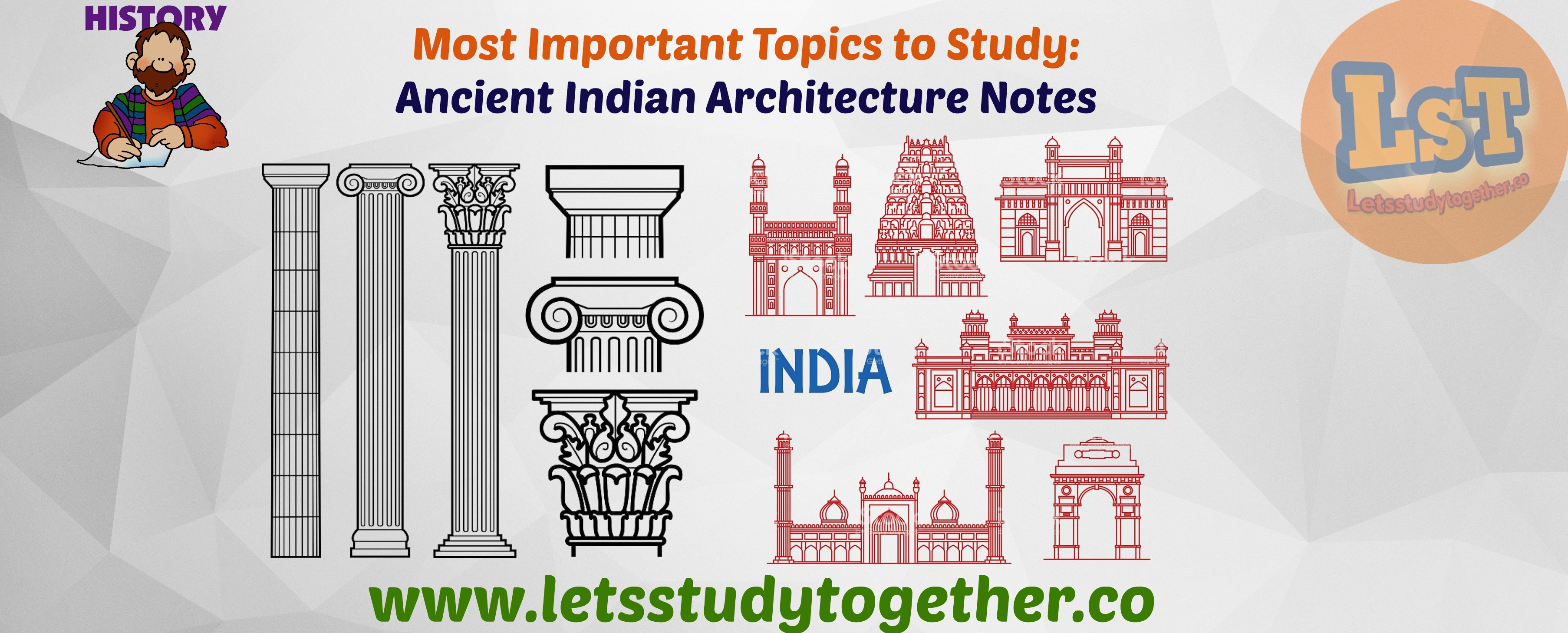 Most Important Topics to Study: Ancient Indian Architecture Notes