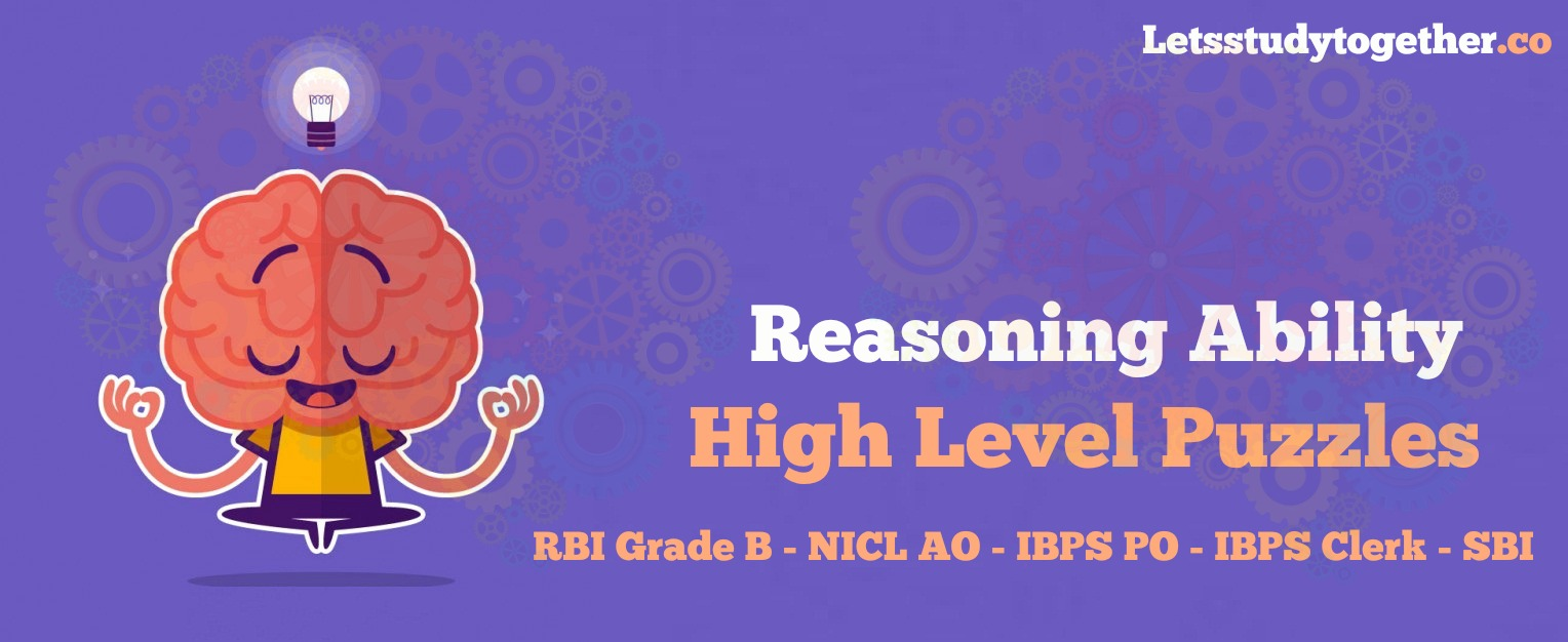 High Level Puzzles for IBPS PO 2017