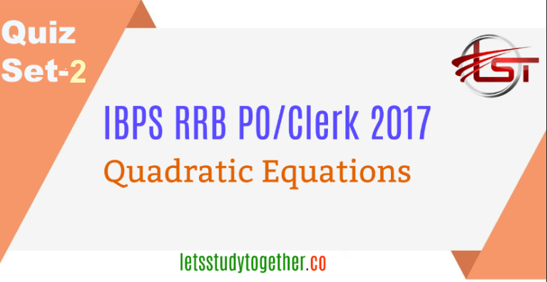 Quadratic Equation Quiz