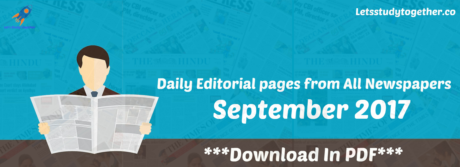 Daily Editorial pages from All Newspapers