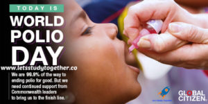 World Polio Day 24th October