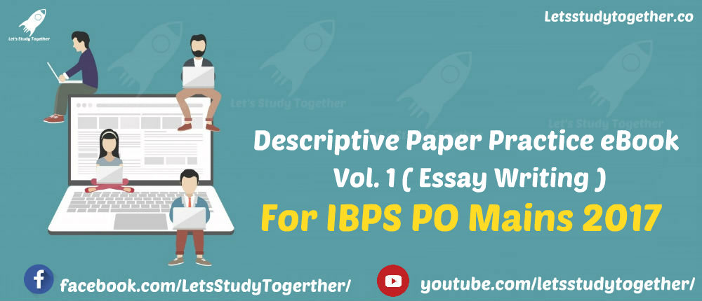 Descriptive Book for IBPS PO Mains 2017