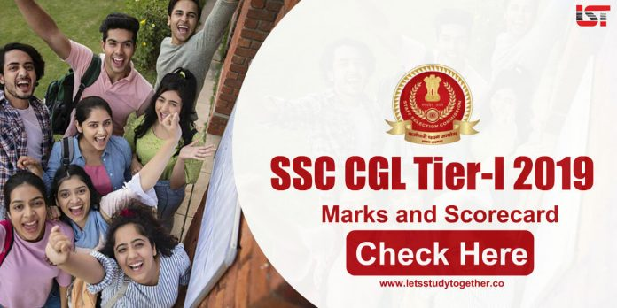SSC CGL Tier 1 Marks and Scorecard with Normalized Scores