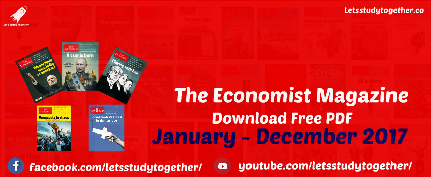 The Economist Magazine Free PDF