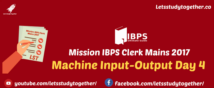 Machine Input-Output