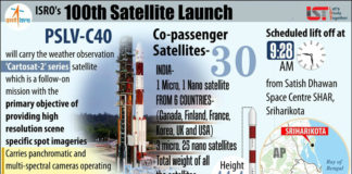 ISRO to launch 100th satellite into orbit