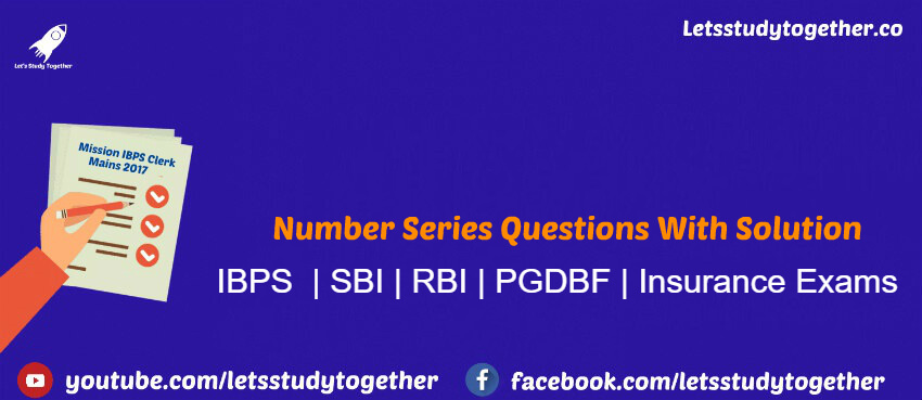 Number Series Questions With Solution