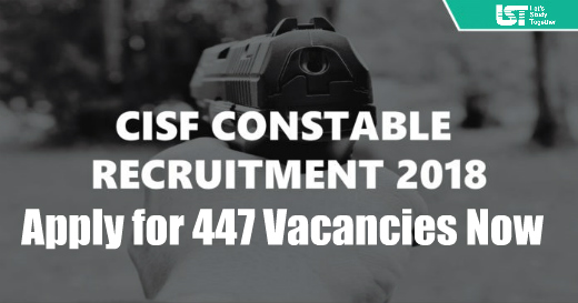 CISF Constable Recruitment 2018