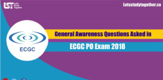 General Awareness Questions Asked in ECGC PO