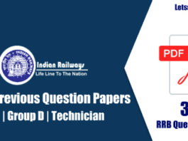 35+ RRB ALP Previous Papers PDF Download