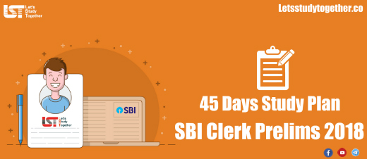 Study Plan for SBI Clerk 22018