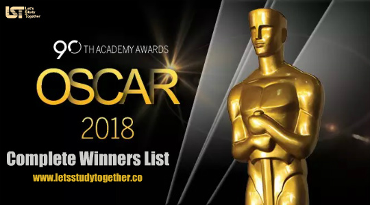 Complete Oscar Awards Winners List PDF