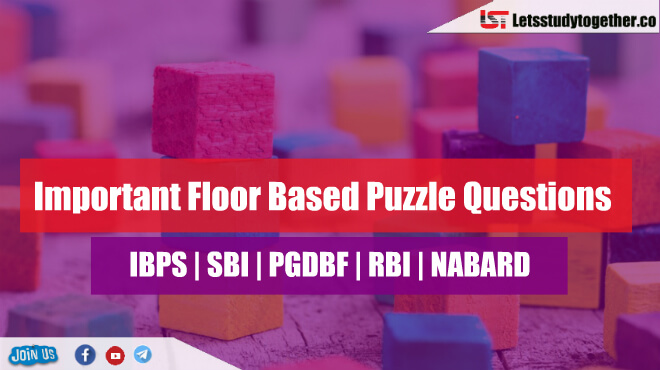 Important Floor Based Puzzle Questions for SBI