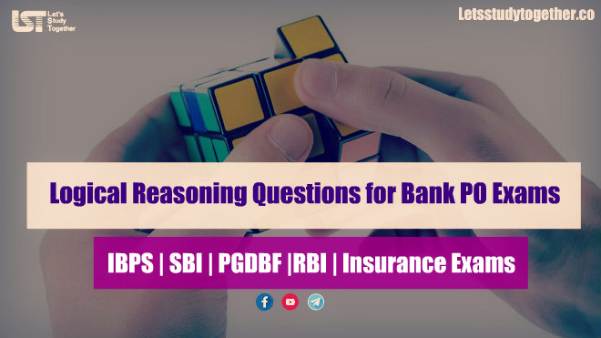Logical Reasoning Questions for SBI | RBI | IBPS: Set -1