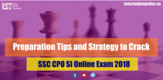 Preparation Tips and Strategy to Crack SSC CPO SI Online Exam 2018