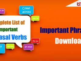 Complete List of Important Phrasal Verbs PDF – Download Now
