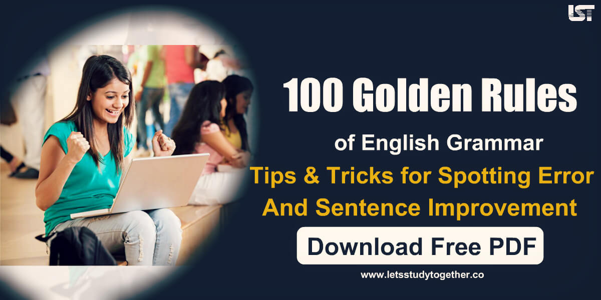 Tips and Tricks for Spotting Error and Sentence Improvement