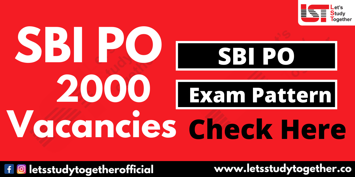 SBI PO New Exam Pattern 2020 (Prelims & Mains)
