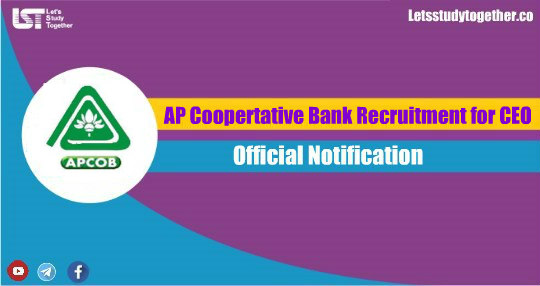 AP Cooperative Bank Recruitment for CEO