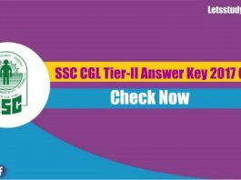 SSC CGL - II Answer Key Out Now