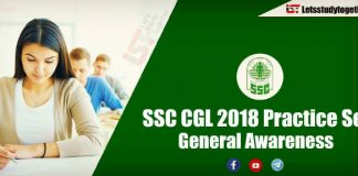General Awareness Question For SSC CGL and RRB Exam 2018 | Set -1