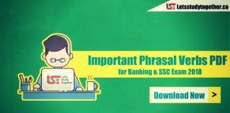 4000+Important Phrasal Verbs PDF for Banking & SSC Exam 2018