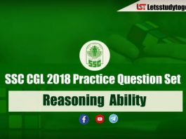 Important Reasoning Questions For SSC CGL and RRB Exam 2018