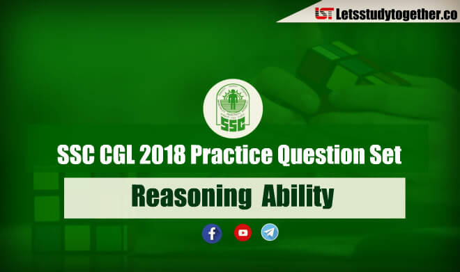 Important Reasoning Questions For SSC CGL Prelims 2018
