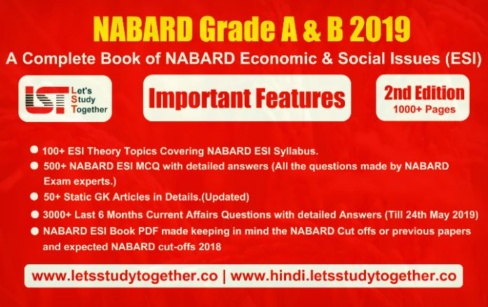 NABARD Economic & Social Issues (ESI) Practice Work Book 2019
