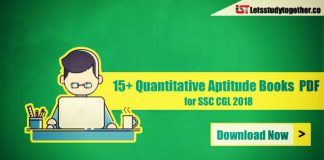 Quantitative Aptitude Books for SSC CGL 2018 Exam Preparation