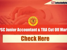 RPSC Junior Accountant & TRA Cut Off Marks 2013