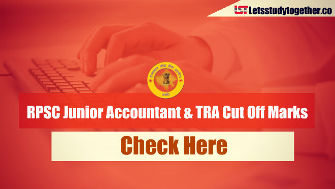 RPSC Junior Accountant & TRA Cut Off Marks 2013 – Check Here