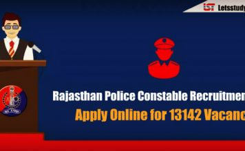 Rajasthan Police Constable Recruitment 2018 - Apply Online