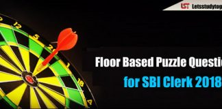 Memory Based Floor Based Puzzle Asked in SBI Clerk Prelims 2018