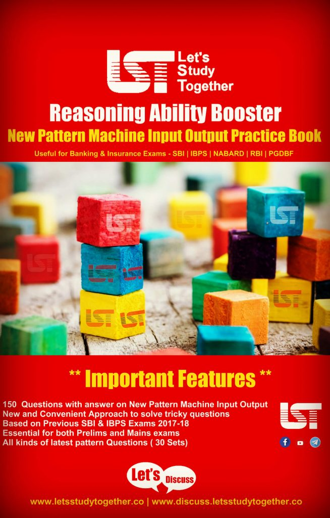 Reasoning Ability Booster - New Pattern Machine Input Output Practice Book