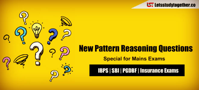 New Pattern Reasoning Questions for IBPS PO 2018 | Set – 3