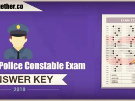 Rajasthan Police Constable Answer Key 2018 – Download All Shifts PDF