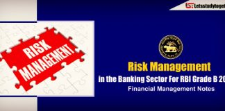 Risk Management in the Banking Sector For RBI Grade B 2018