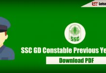 75+ SSC GD Constable Previous Year Questions Papers - Download PDF