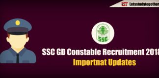 SSC GD Constable Recruitment 2018 – Apply Online for 54953 Constable Vacancies