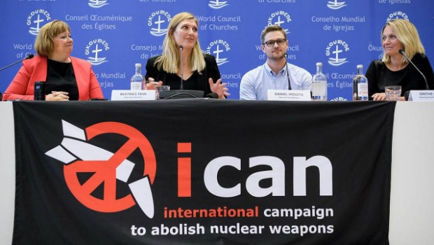 The Nobel Peace Prize 2017 - International Campaign to Abolish Nuclear Weapons (ICAN)