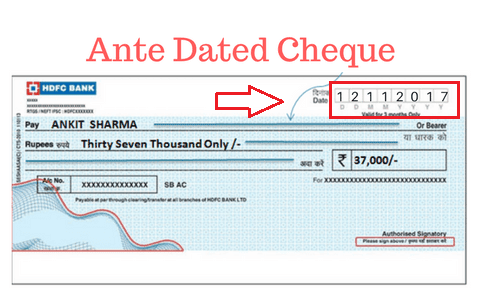 Different Type of Cheques in Indian Banking System - Types of Cheques in Hindi