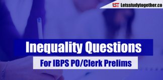 Inequality Questions For IBPS PO/Clerk