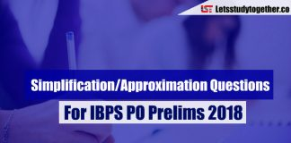 Simplification/Approximation Questions For IBPS PO Prelims