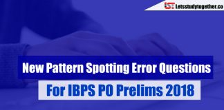 New Pattern Spotting Error Questions