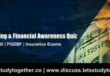 Current Banking & Financial Awareness Quiz For RRB PO Mains 2018 | 53