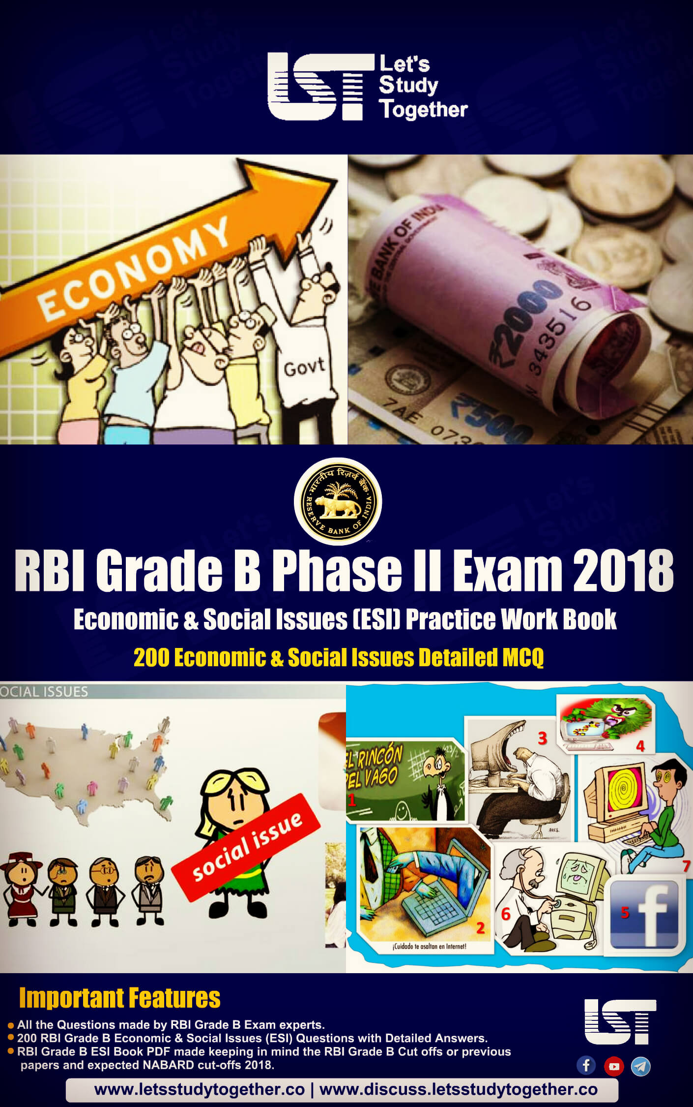 RBI Grade B Economic & Social Issues (ESI) Practice Work Book