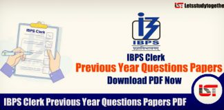 IBPS Clerk Previous Year Questions Papers PDF – Download Now