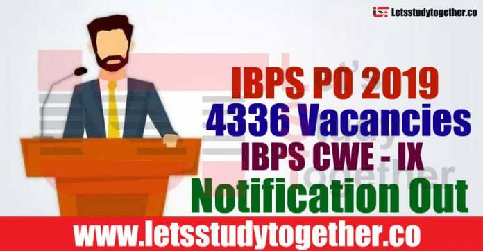 IBPS PO 2019 Recruitment Notification Out